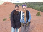 My friend and fellow author/speaker Shawna Bowen in Sedona