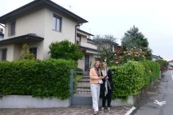 Our home in Bergamo