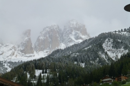 Dramatic Dolomite skyline