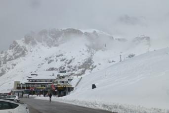 Passo Pordoi, 2239 m (7346 ft)