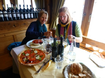 Lunch in Cortina