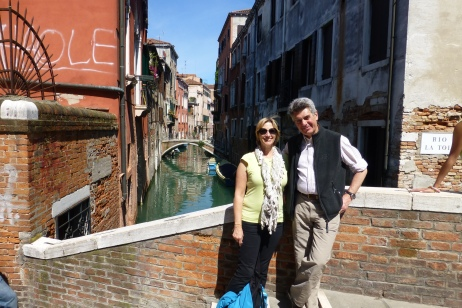Me and my amazing Venice guide!