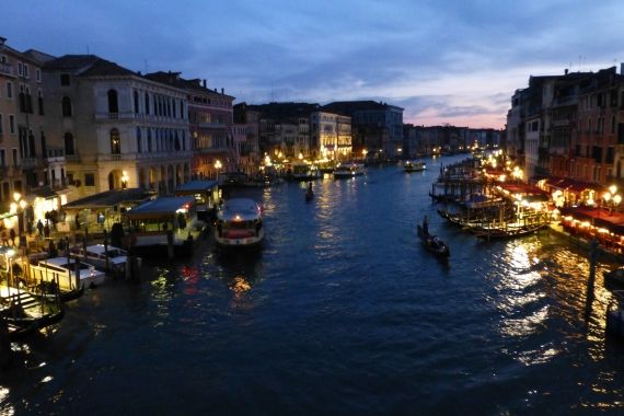 Lights on the Grand Canal
