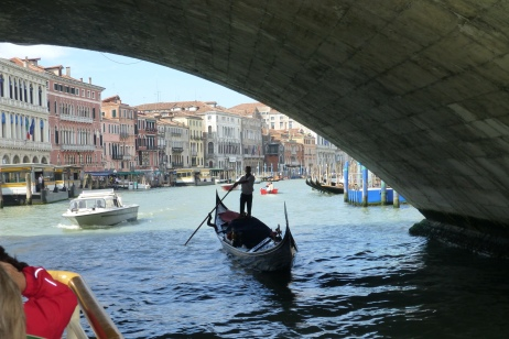 Under the Rialto Bridge
