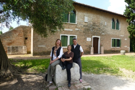 The Three Amigos on Torcello Island
