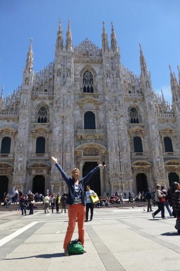 Made it to Milan!