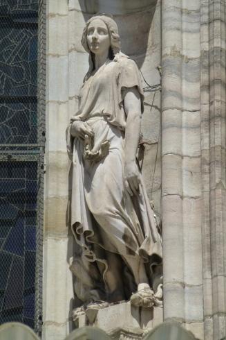 More statuary