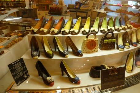Chocolate shoes!!