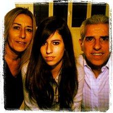 Ale, Ari, and Nic, my Milan family