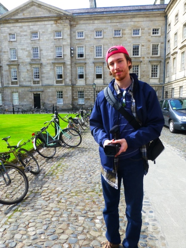 Filmmaker at Trinity College