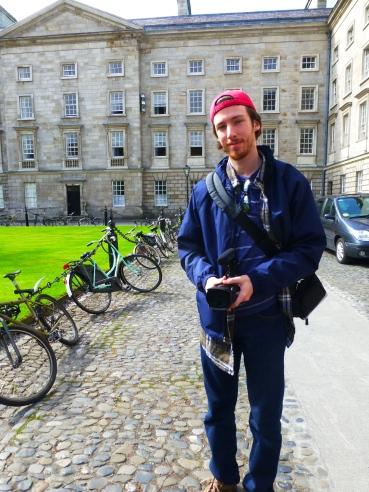 Filmmaker at Trinity College