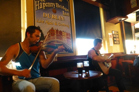 The Traditional Irish Musical Pub Crawl