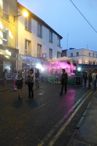 Silent Disco on Dominick Street