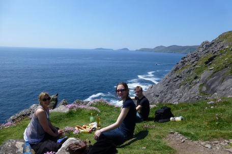 No better place for a picnic with Blasket Islands in the background