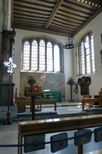 Tower Chapel, resting place of the dearly beheaded Anne Boleyn, Catherine Howard, Lady Jane Grey, and others