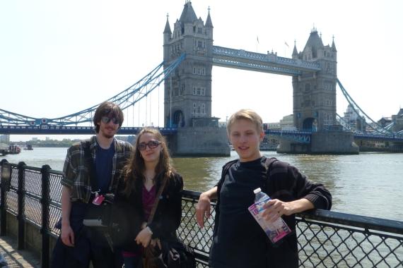 The Tower Bridge (not the London Bridge)