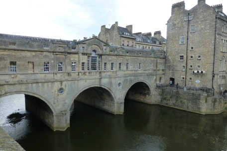 Bridge over the River Avon - reminiscent of Ponte Vecchio in Florence