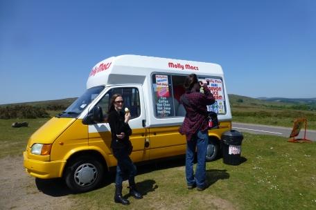 Ice cream on the moors