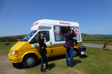 Ice cream on the moors