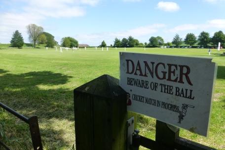 A cricket match in Avebury