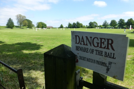 A cricket match in Avebury
