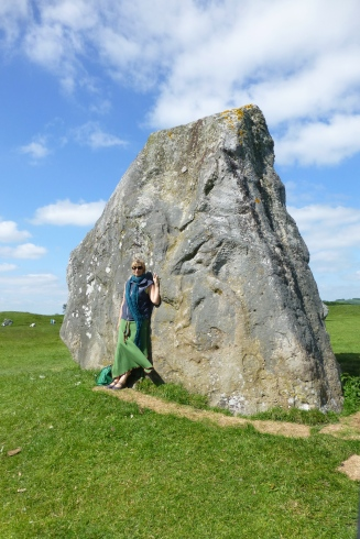 Absorbing the history in Avebury
