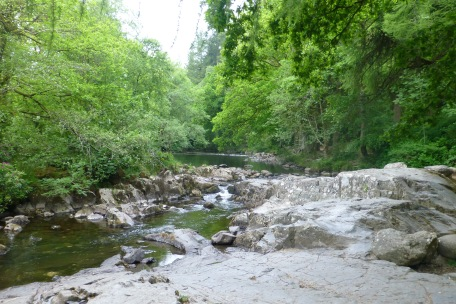 Mountain stream at Betws-y-Coed