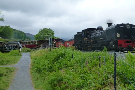 The mountain train