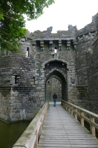 Entrance to Beaumaris Castle