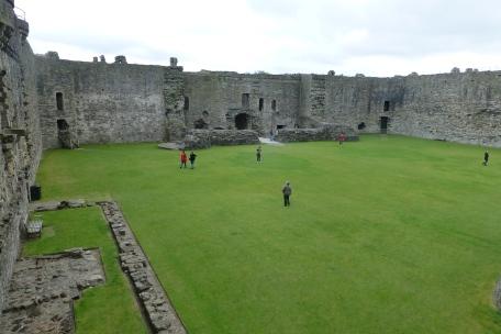 Beaumaris castle interior